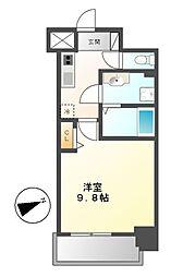 リバーコート砂田橋II[7階]の間取り
