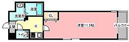 ハピネス北田町[3階]の間取り
