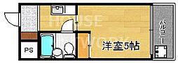 メゾン・ド・パルファン[203号室号室]の間取り