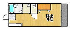 サンシティJUN[2階]の間取り