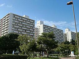 UR南港ひかりの団地[13-502号室]の外観