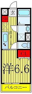 間取り,1K,面積25m2,賃料9.9万円,東京メトロ有楽町線 護国寺駅 徒歩6分,,東京都文京区目白台3丁目