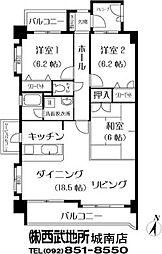 第7高島マンション[2階]の間取り