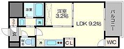 セレニテ福島シェルト[3階]の間取り