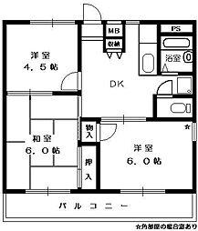エレガンス[2階]の間取り