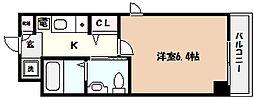 兵庫県神戸市東灘区森南町2丁目の賃貸マンションの間取り