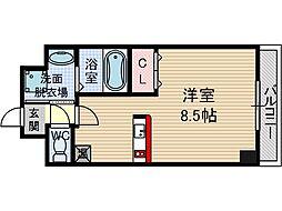 アネシスフナキ[3階]の間取り