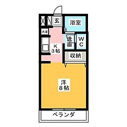 FUJI BASEII[2階]の間取り
