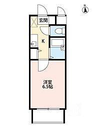 ピュアフォレスト[1階]の間取り