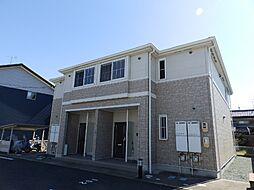 三重県鈴鹿市算所5の賃貸アパートの外観