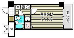 ベル・エール K.M[2階]の間取り
