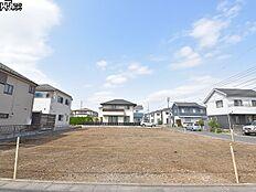 5号地(写真中央手前)付近 現地写真 東村山市富士見町3丁目