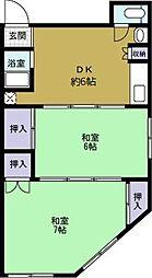 新和マンション[201号室]の間取り