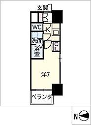 S−RESIDENCE千種[8階]の間取り