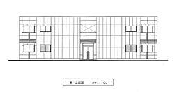 広島県広島市安佐南区祇園7丁目の賃貸アパートの外観