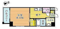 パークテラス浅生[2階]の間取り