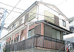 神奈川県横浜市神奈川区三ツ沢下町の賃貸アパートの外観