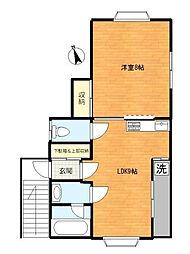 アートフルハウス[2階]の間取り