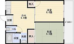 アネックス A棟[5階]の間取り