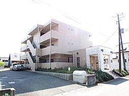 茨城県牛久市上柏田3丁目の賃貸マンションの外観