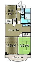 メゾンアスカM1[1階]の間取り