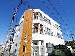 東京都東村山市富士見町1丁目の賃貸マンションの外観