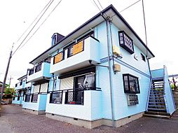 東京都東村山市恩多町4丁目の賃貸アパートの外観
