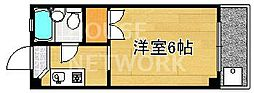 ロイヤルコーポタカノ[328号室号室]の間取り