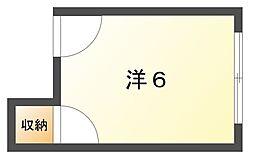 BEFREE B[2階]の間取り