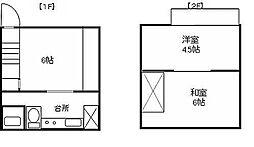 [一戸建] 埼玉県さいたま市中央区桜丘1丁目 の賃貸【/】の間取り
