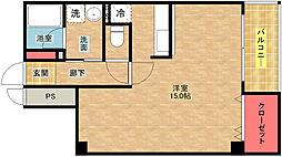 S&J 2nd[4階]の間取り
