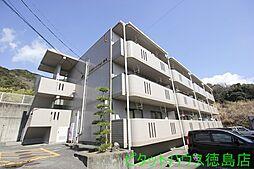 ハイランドマンション多田[1-202号室]の外観