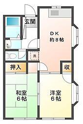 レストハウス和光[2階]の間取り