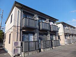 静岡県三島市大宮町2丁目の賃貸アパートの外観