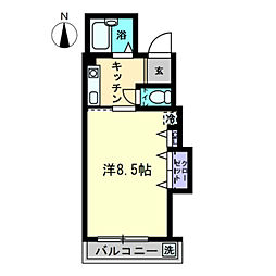 AXIA-SHIDO〜アクシアシド〜[2-201号室]の間取り