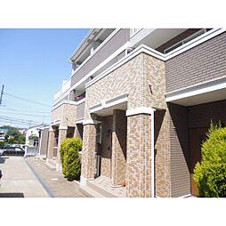 大阪府枚方市茄子作3丁目の賃貸アパートの外観