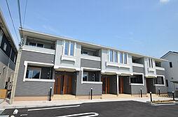 兵庫県姫路市余部区上余部前畑の賃貸アパートの外観