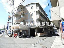 岡山県岡山市北区津島笹が瀬の賃貸マンションの外観