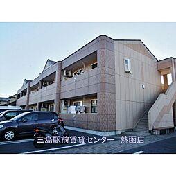 静岡県伊豆の国市四日町の賃貸アパートの外観