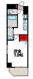 アクアシティ別府ステーション[5階]の間取り