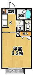 スプリーム成城ABC[A103号室]の間取り