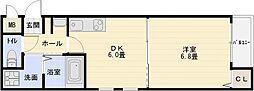 ステラウッド清州[2階]の間取り