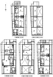 (仮称)港区新川町II 新築アパート[302号室号室]の間取り