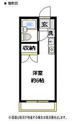 未来館西浦和[215号室号室]の間取り