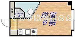コレクション関目[302号室]の間取り