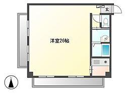 ナビシティ徳川[3階]の間取り