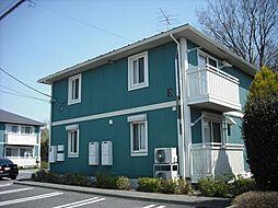茨城県龍ケ崎市久保台3丁目の賃貸アパートの外観