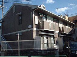 東京都練馬区氷川台の賃貸アパートの外観