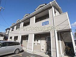 神奈川県厚木市愛甲東1丁目の賃貸アパートの外観