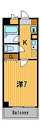 神奈川県横浜市保土ケ谷区坂本町の賃貸マンションの間取り